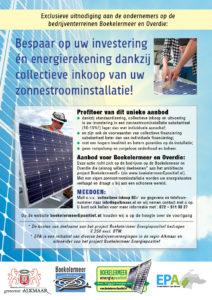 Besparen op investering en energierekening